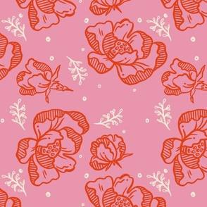 Red Blossom Pink - Medium