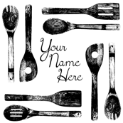 Kitchen Utensils w/ Your Name