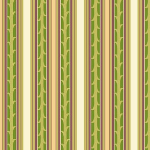 Vines and Stripes - leaf