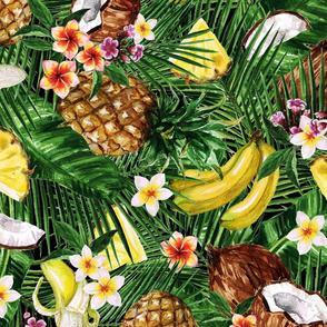 TROPICAL Palm & Fruit