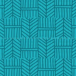 Spikes - light blue