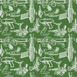 Ray Gun Revival (Olive Green) (4x4)