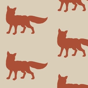 Fox - rust/red