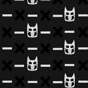 OFF Zacharie Mask Black + White + Gray