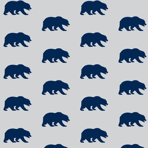 Grizzly Bear - Navy/Grey - Starlit