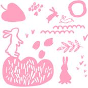 Playing_rabbits_pink