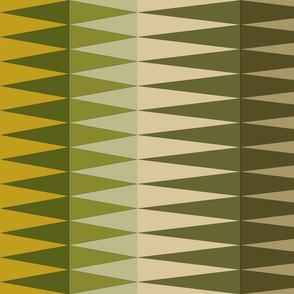 mossgreen triangles