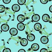 Pastel Green Bikes