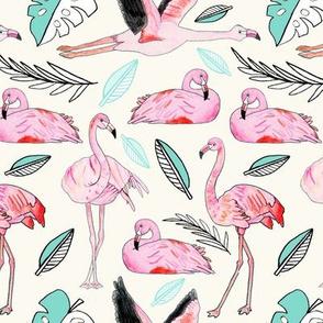 Flamingos Forever