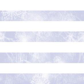 Vintage Cottage Stripe in blue-violet