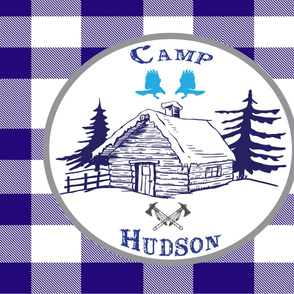 Plaid Camp Hudson Patch Blanket