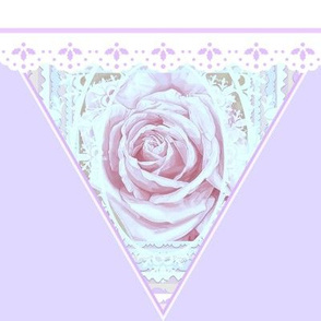 Wedding Rose Delicate Bunting
