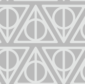 Pastel Potter - Gray Deathly Hallows