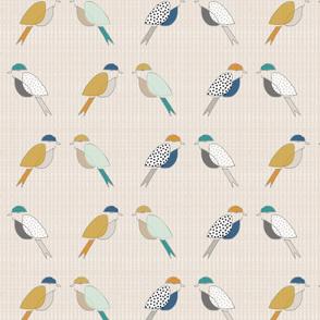 Mid Century Modern Birds