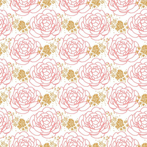 Peony Pink Gold