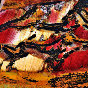 African_Patchwork - Tiger Eye