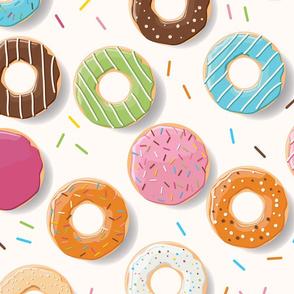 Donuts pattern 003