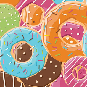 Donuts pattern 006