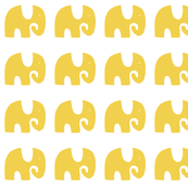 Elephant Parade - Yellow