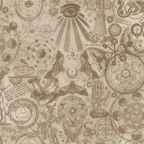 Aged Antique Mystic Occult
