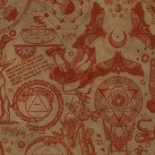 Rustic Antiqued Mystic Occult