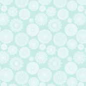 Lacy Mandalas on Mint