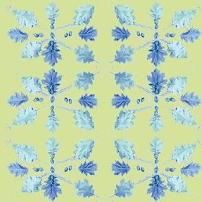 Oak Leaves (Lime)