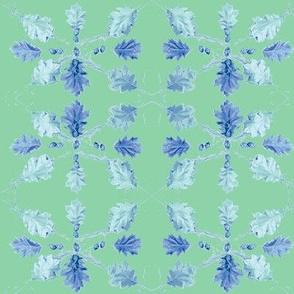 Oak Leaves (Green)