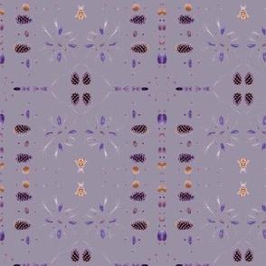 Four Square (Purple)
