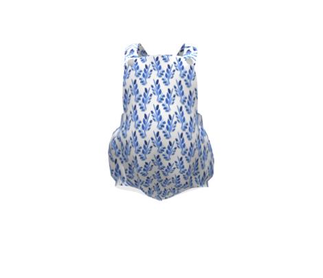 Frances watercolor  floral pattern