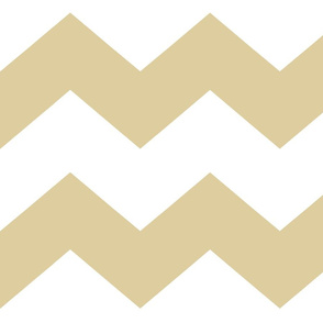 Gold Chevron Large