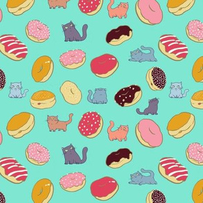 Cats and Doughnuts on Mint