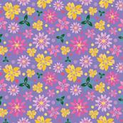Summer Floral Viola