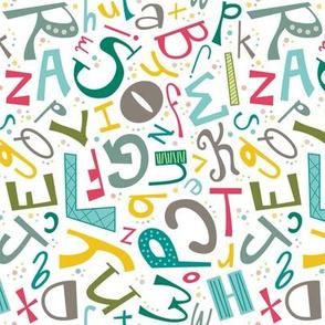 Alphabet Fun Colorful (Elementary)