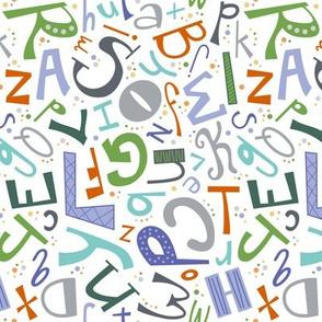 Alphabet Fun Colorful (Secondary)