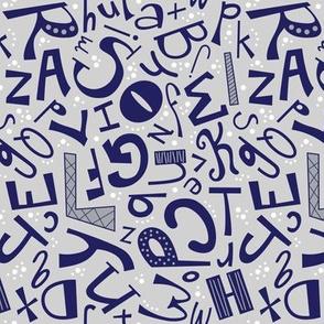Alphabet Fun Monochrome (Secondary)