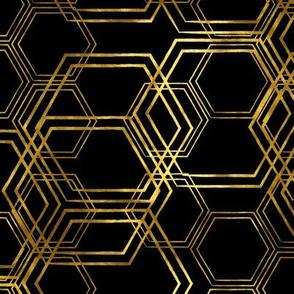 Hexagold Black