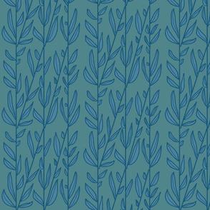background of seedy stalks in slate + deep