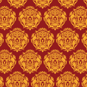 Lion Damask small