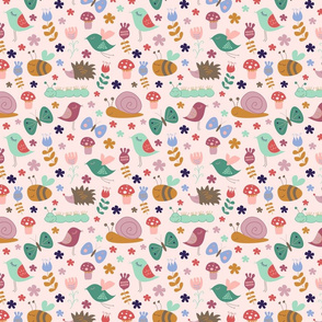Meadow Doodle rosy