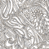 Paisley-Power-paisley-lace-mirror-outline-black-brown-print-fabric-design