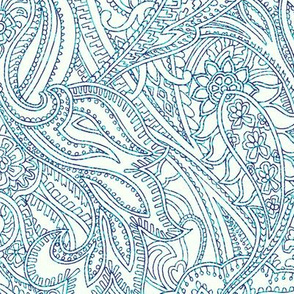 Paisley-Power-paisley-lace-mirror-outline-blue-turquoise-print-fabric-design