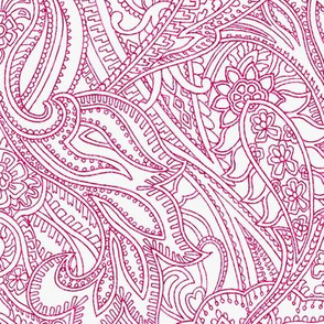 Paisley-Power-paisley-lace-mirror-outline-red-pink-print-fabric-design