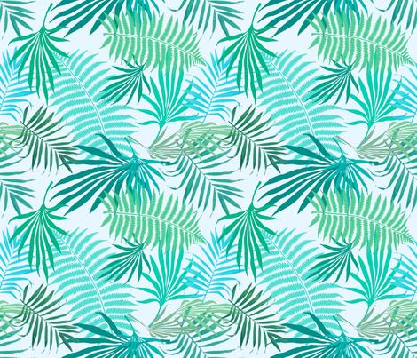 Sea Green Palms