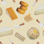 French Cheeses on Cream