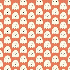 Spooky Ghosts: Orange