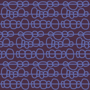 background: seedy bobbles in plum + orchid