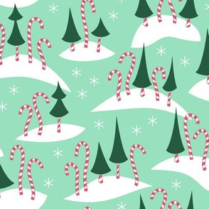 Candy Cane Forest (Merry)