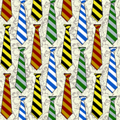 Harry Potter House Ties Small