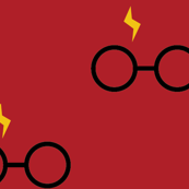 Pastel Potter - Gryffindor Glasses Black